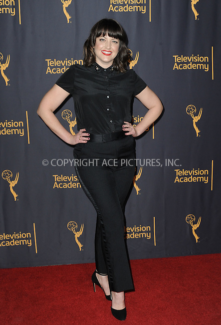 www.acepixs.com<br /> <br /> February 16 2017, LA<br /> <br /> Kathryn Burns attending the Television Academy's 'Whose Dance Is It Anyway?' celebration at Saban Media Center on February 16, 2017 in North Hollywood, California.<br /> <br /> By Line: Peter West/ACE Pictures<br /> <br /> <br /> ACE Pictures Inc<br /> Tel: 6467670430<br /> Email: info@acepixs.com<br /> www.acepixs.com