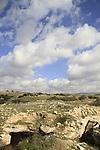 Israel, Shephelah, caves in Beth Loya