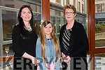 "Ann Cantillon Linnane,Laura Linnane and Cathy Cantillon at the ""Fashion Fusion"" in aid of Duggan Family House fire Appeal in the Fels Point Hotel on Saturday"
