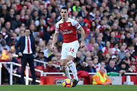 Granit Xhaka of Arsenal during Arsenal vs Southampton, Premier League Football at the Emirates Stadium on 24th February 2019