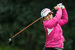Ji Hyun Kim of South Korea tees off at the 14th hole during Round 1 of the World Ladies Championship 2016 on 10 March 2016 at Mission Hills Olazabal Golf Course in Dongguan, China. Photo by Victor Fraile / Power Sport Images