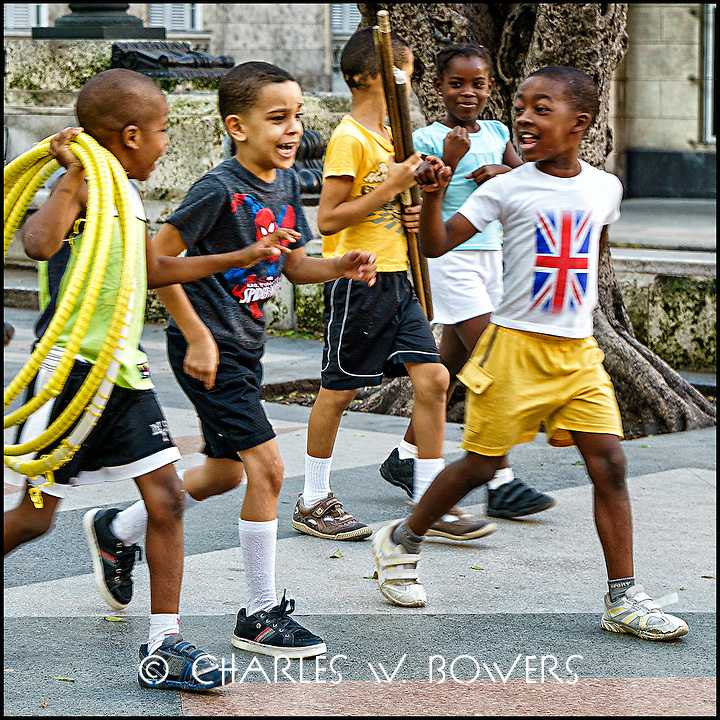 Faces Of Cuba - local sports kids ready to play. <br />