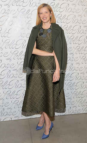 NEW YORK, NY - FEBRUARY 15: Lela Rose attends the Lela Rose New York Fashion Week Fashion show at skylight Clarkson Square on February 15, 2016 in New York City.  Credit: John Palmer/MediaPunch