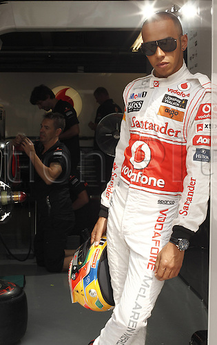 09 06 2011  FIA Formula One World Championship. Exclusive photoshoot with  Lewis Hamilton GBR Vodafone McLaren Mercedes