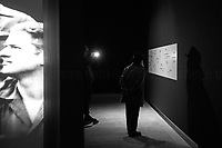"""Victims.<br /> <br /> Rome, 27/01/2019. Today is the International Holocaust Day, also called Holocaust Memorial Day in UK & Italy. A day designated by the UN General Assembly resolution 60/7 on 1 November 2005 to remember the victims of the Holocaust: 6 million Jews, 2 million Gypsies (Roma & Sinti), 15,000 homosexual people, and millions of others killed by the Nazi regime and its collaborators. The 27th of January (1945) marks the day of the liberation by the Soviet Union Army of the largest death camp, Auschwitz-Birkenau (74th Anniversary). To coincide with the Holocaust Memorial Day the Palazzo delle Esposizioni presents its last experiential exhibition called Witnesses of Witnesses. Remembering and Recounting Auschwitz. From the event website: <<Following a memory trip to Auschwitz, the heart of the devastating Shoah that rocked and shocked the 20th century, a group of students from various Rome high schools began to envisage a different way of recalling those horrific events. These boys' and girls' encounter with Studio Azzurro – a well-known Italian artists' collective involved in experimenting with the language of new media – has spawned """"Witnesses' Testimonials. Recalling and recounting Auschwitz,"""" the first experiential exhibition designed by students in an institutional space within the capital, to be experienced as an event that urges visitors to undertake a physical and mental journey to keep the memory of the story alive. […] A narrow space, which visitors are urged to enter, conjures up the cattle trucks used for deportation. The doors slide shut. In the darkness we hear the voices of Mussolini and Hitler, the frenzied chanting of the adoring crowds, and the insistent drumming of the train on the tracks. The doors open […]>>.<br /> For more info please click here: https://www.palazzoesposizioni.it/ & https://bit.ly/2RkbUTT"""