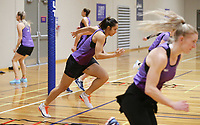 29.08.2017 Silver Ferns Pheonix Karaka in action during the Silver Ferns training in Auckland. Mandatory Photo Credit ©Michael Bradley.