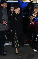 NEW YORK, NY- February 14: Julia Louis-Dreyfus at Good Morning America in New York City on February 14, 2020. Credit: RW/MediaPunch