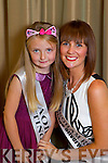 Nottingham Rose Claire Regan with her rosebud Aoife Ross at the Fels Point hotel on Friday.