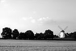 DEU, Deutschland, Nordrhein Westfalen, Niederrhein, Krefeld, Windmuehle, Egelsbergmuehle, Diese Hollaender Muehle steht im Stadtteil Traar, auf dem 44 Meter hohen Egelsberg, frueher Ygelsberg. Gebaut wurde sie1802, unter Wind drehten sich die Fluegel bis etwa 1935. Danach ist sie noch gut 10 Jahre maschinell angetrieben  worden.<br /> [Fuer die Nutzung gelten die jeweils gueltigen Allgemeinen Liefer-und Geschaeftsbedingungen. Nutzung nur gegen Verwendungsmeldung und Nachweis. Download der AGB unter http://www.image-box.com oder werden auf Anfrage zugesendet. Freigabe ist vorher erforderlich. Jede Nutzung des Fotos ist honorarpflichtig gemaess derzeit gueltiger MFM Liste - Kontakt, Uwe Schmid-Fotografie, Duisburg, Tel. (+49).2065.677997, fotofinder@image-box.com, www.image-box.com]