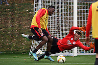 10.11.2015: Eintracht Frankfurt Training