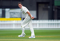 Canterbury's Will Williams during day two of the Plunket Shield cricket match between the Wellington Firebirds and Canterbury at Basin Reserve in Wellington, New Zealand on Wednesday, 30 October 2019. Photo: Dave Lintott / lintottphoto.co.nz