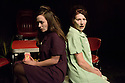 London, UK. 12.10.2015. HOW I LEARNED TO DRIVE, by Paula Vogel, directed by Jack Sain, opens at Southwark Playhouse. Picture shows:  Bryony Corrigan (Teenage Greek Chorus) and Holly Hayes (Female Greek Chorus). Photograph © Jane Hobson.