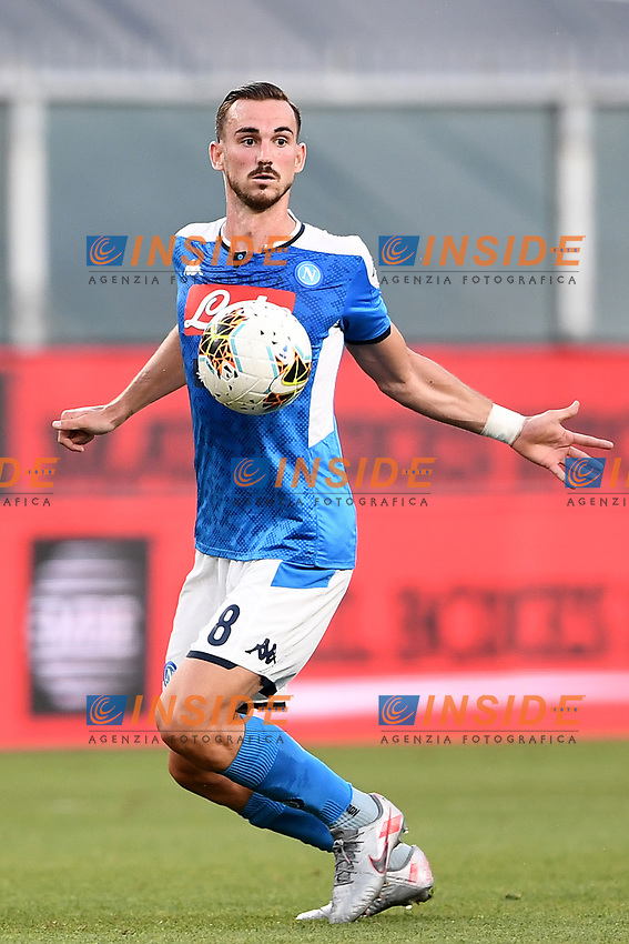 Fabian Ruiz of SSC Napoli during the Serie A football match between Genoa CFC and SSC Napoli stadio Marassi in Genova ( Italy ), July 08th, 2020. Play resumes behind closed doors following the outbreak of the coronavirus disease. <br /> Photo Matteo Gribaudi / Image / Insidefoto
