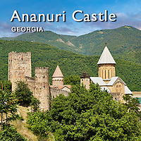 Pictures & Images of Ananuri castle complex & Georgian Orthodox Churches, Georgia (country) -