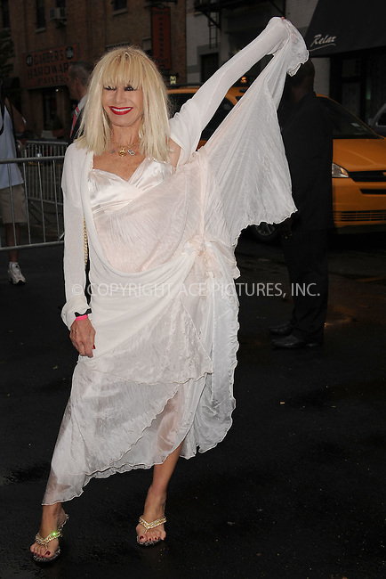 WWW.ACEPIXS.COM . . . . . .June 9, 2011...New York City...Betsey Johnson  enters the Stephan Weiss Studios on June 9, 2011 in New York City.  on June 9, 2011 in New York City.....Please byline: KRISTIN CALLAHAN - ACEPIXS.COM.. . . . . . ..Ace Pictures, Inc: ..tel: (212) 243 8787 or (646) 769 0430..e-mail: info@acepixs.com..web: http://www.acepixs.com .