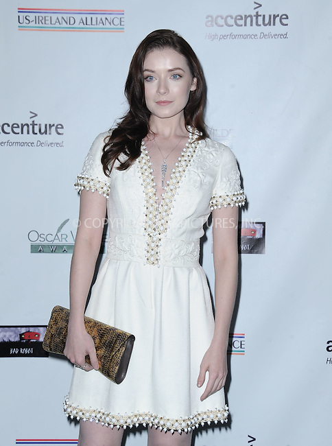WWW.ACEPIXS.COM<br /> <br /> February 19 2015, LA<br /> <br /> Sarah Bolger arriving at the US-Ireland Alliance Pre-Academy Awards event at Bad Robot on February 19, 2015 in Santa Monica, California. <br /> <br /> <br /> By Line: Peter West/ACE Pictures<br /> <br /> <br /> ACE Pictures, Inc.<br /> tel: 646 769 0430<br /> Email: info@acepixs.com<br /> www.acepixs.com