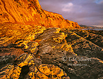 Sunset, Sculptured Beach, Point Reyes National Seashore, Marin County, California