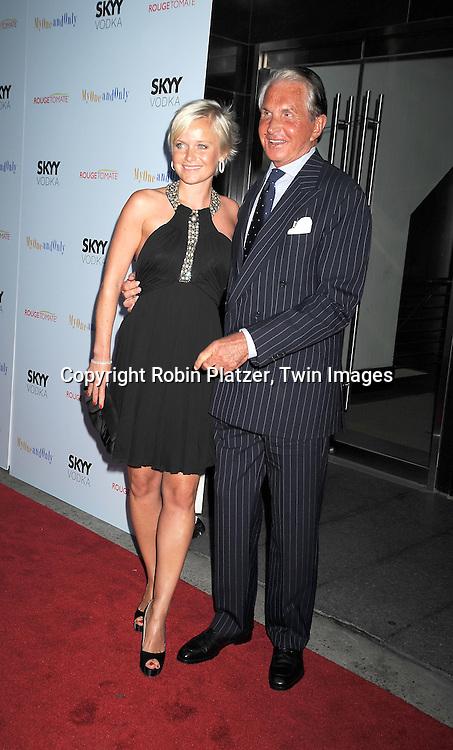 George Hamilton and Dr Barbara Strum