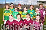 SKILLS: At the Kerry primary schools skills finals at Austin Stacks Park in Tralee last Thursday were, front l-r: Sarah Fitzgerald, Aine O'Connor, Aoife Fitzgerald, Lorraine Hobbert. Middle, l-r: Linda Twomey, Sarah Treacy, Niamh Duffy, Julieanne O'Keefe. Back --r: Orla Young, Patrice Diggin, Louis Flaherty, Anne Marie Leane.   Copyright Kerry's Eye 2008