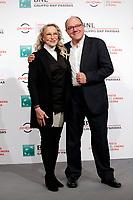 Eleonora Giorgi e Carlo Verdone<br /> Roma 31/10/2017.  Auditorium parco della Musica. Festa del Cinema di Roma 2017.<br /> Rome October 31st 2017. Rome Film Fest 2017<br /> Foto Samantha Zucchi Insidefoto