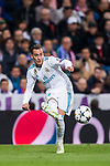Lucas Vazquez of Real Madrid in action during the UEFA Champions League Semi-final 2nd leg match between Real Madrid and Bayern Munich at the Estadio Santiago Bernabeu on May 01 2018 in Madrid, Spain. Photo by Diego Souto / Power Sport Images