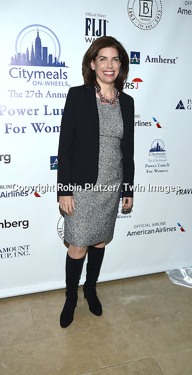 "Julie Menin attends the 27th Annual Citymeals-on-Wheels "" Power Lunch for Women"" on November 22, 2013 at the Plaza Hotel in New York City."