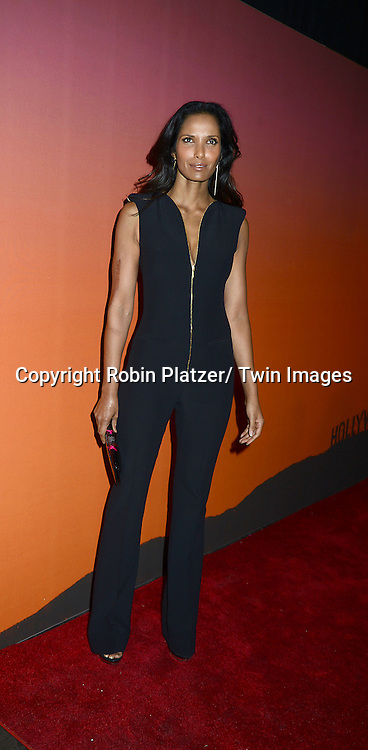 Padma Lakshmi attends the 2013 Whitney Gala & Studio party honoring artist Ed Ruscha on October 23, 2013 at Skylight at Moynihan Station in New York City.