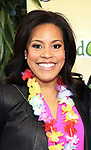 """Sheinelle Jones attending the Broadway Opening Night Performance of  """"Escape To Margaritaville"""" at The Marquis Theatre on March 15, 2018 in New York City."""