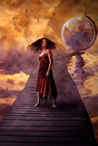 Photo manipulated art, concept image.<br /> Model, Karen R&eacute;my <br /> http://www.myspace.com/karenremy