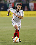 21 June 2007:  Mexico's Gerardo Torrado. The National Team of Mexico defeated Guadeloupe 1-0  in a CONCACAF Gold Cup Semifinal match at Soldier Field in Chicago, Illinois.