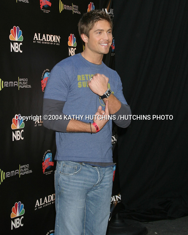 ©2004 KATHY HUTCHINS /HUTCHINS PHOTO.RADIO MUSIC AWARDS 2004.LAS VEGAS, CA.OCTOBER 25, 2004..ERIC WINTER