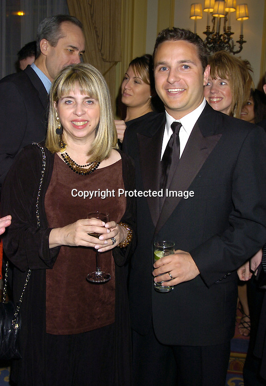 Donna Swajeski and David Kreizman at The 57th Annual  Writers Guild Awards on February 19, 2005 at The Pierre Hotel in New York City. Claire Labine got .an award and  Guiding Light won for Best Soap Opera. .Photo by Robin Platzer, Twin Images.