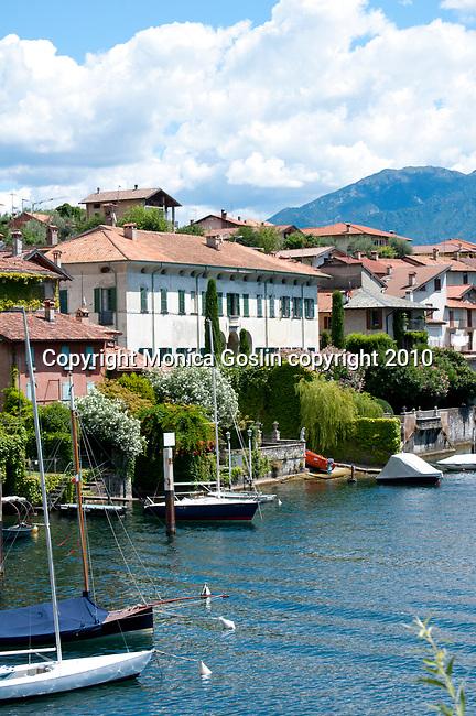 Sala Comacina on Lake Como, Italy