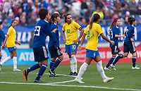 Nashville, TN - March 2, 2019:  Brazil defeated Japan 3-1 during the SheBelieves Cup at Nissan Stadium.