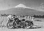 Mont Fuji and Harley-Davidson.