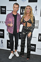Harry Derbidge and Chloe Crowhurst at The List Celebrity Mixer dating app party, FEST Camden, Chalk Farm Road, London, England, UK, on Wednesday 03rd July 2019.<br /> CAP/CAN<br /> ©CAN/Capital Pictures