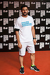 Antonio Velazquez poses during Mutua Madrid Open `Charity Day´ at Caja Magica in Madrid, Spain. May 01, 2015. (ALTERPHOTOS/Victor Blanco)