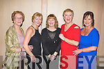 STLYE: Enjoying the fun at the John Mitchels GAA annual dinner at the Ballygarry House hotel and Spa on Friday l-r: Nellie Higgins, Ina Comerford, Mary Quinn, Mary Higgins and Valaire Higgins.