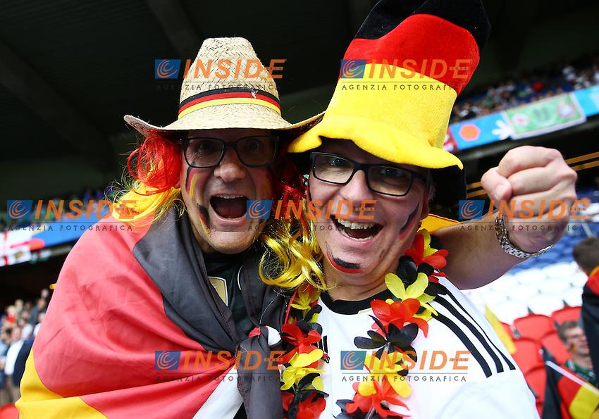 Germany supporters. tifosi<br /> Paris 21-06-2016 Parc des Princes Footballl Euro2016 Northern Ireland - Germany  / Irlanda del Nord - Germania Group Stage Group C. Foto Matteo Ciambelli / Insidefoto