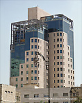 Mixed architectural styles in Jerusalem building