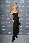 Model Carolyn Murphy arrives at the WSJ. Magazine 2017 Innovator Awards at The Museum of Modern Art in New York City, on November 1, 2017.