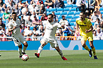 Real Madrid's Dani Carvajal during La Liga match between Real Madrid and Villarreal CF at Santiago Bernabeu Stadium in Madrid, Spain. May 05, 2019. (ALTERPHOTOS/A. Perez Meca)