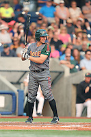 Kevin Padlo (7) of the Boise Hawks bats during a game against the Hillsboro Hops at Ron Tonkin Field on August 22, 2015 in Hillsboro, Oregon. Boise defeated Hillsboro, 6-4. (Larry Goren/Four Seam Images)