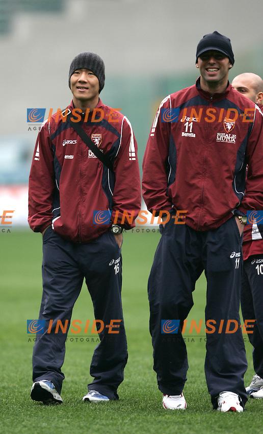 Masashi Oguro (Torino)<br /> Italian &quot;Serie A&quot; 2006-07<br /> 18 Feb 2007 (Match Day 24)<br /> Lazio-Torino (2-0)<br /> &quot;Olimpico&quot;-Stadium-Roma-Italy<br /> Photographer: Andrea Staccioli INSIDE