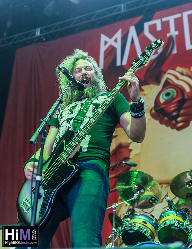 Mastodon at Mayhem Fest 2013 in Atlanta, GA.