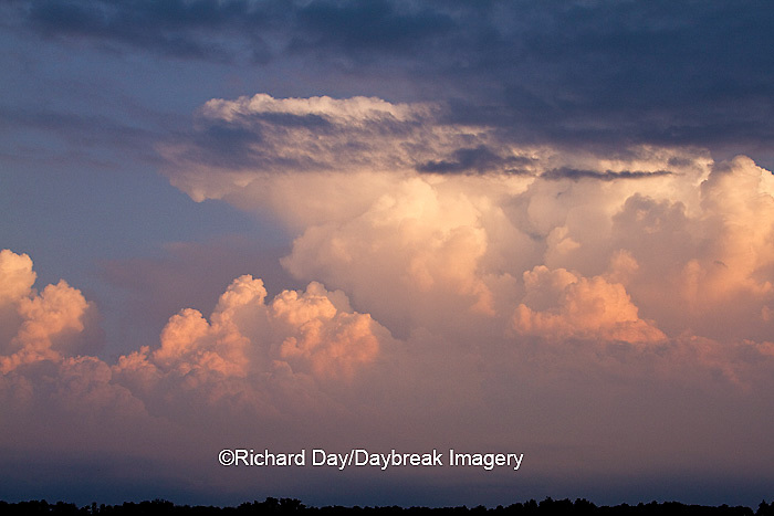63891-02509 Storm clouds at sunset, Marion Co., IL
