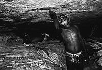 AUSTRALIA ABORIGINAL traditional  rock painting, deep inside Arnhem Land,Northern Territory