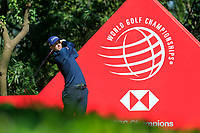 Adam Scott (AUS) on the 9th tee during the final round at the WGC HSBC Champions 2018, Sheshan Golf CLub, Shanghai, China. 28/10/2018.<br /> Picture Fran Caffrey / Golffile.ie<br /> <br /> All photo usage must carry mandatory copyright credit (&copy; Golffile | Fran Caffrey)