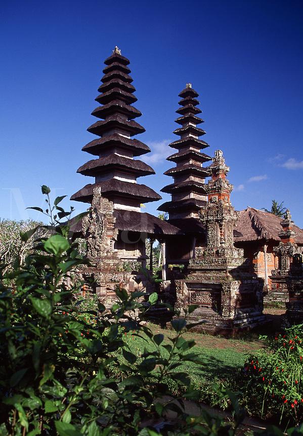 Taman Ayun Hindu Temple Mengwi Bali Indonesia.