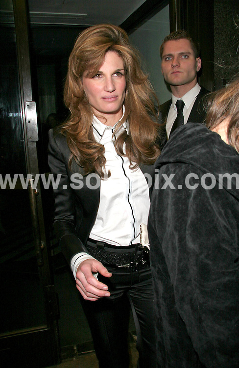 **ALL ROUND PICTURES FROM SOLARPIX.COM**.**WORLDWIDE SYNDICATION RIGHTS**.This picture: Jemima Khan.Pre BAFTA party at Ceccoms restaurant in London..JOB REF: 3339      SSD     DATE: 09/02/07.**MUST CREDIT SOLARPIX.COM OR DOUBLE FEE WILL BE CHARGED**